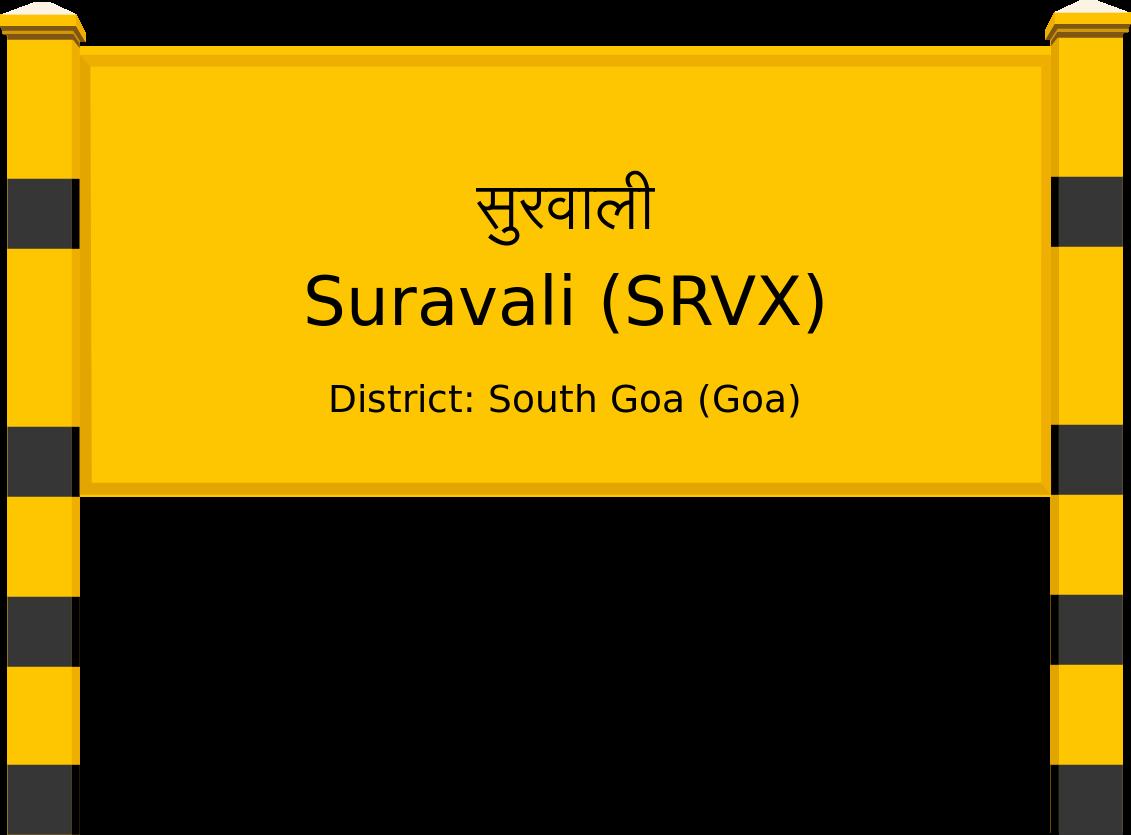 Suravali (SRVX) Railway Station