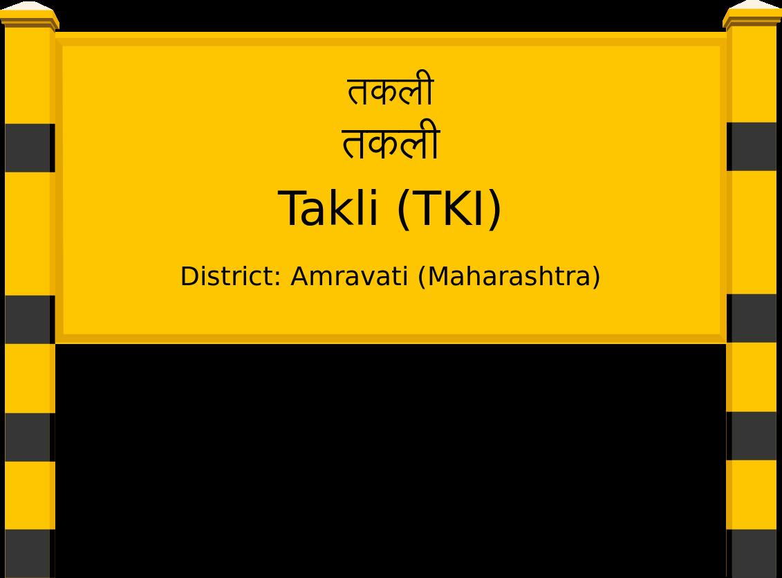 Takli (TKI) Railway Station