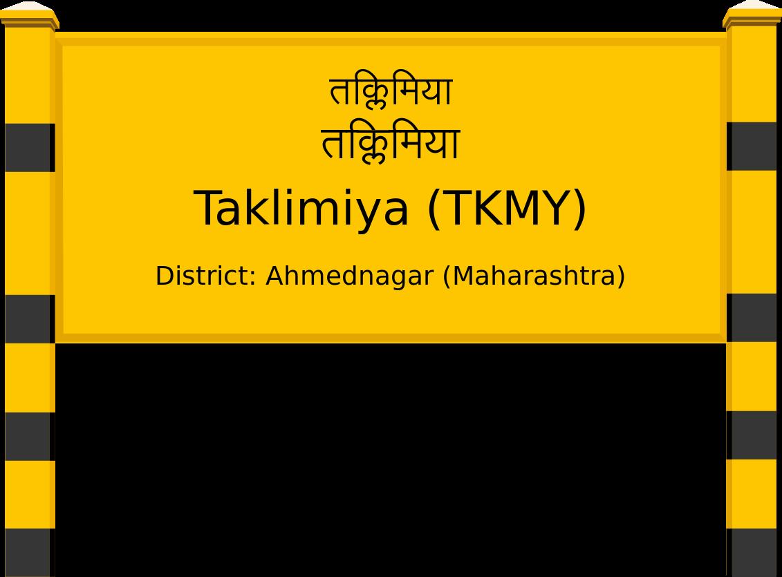 Taklimiya (TKMY) Railway Station