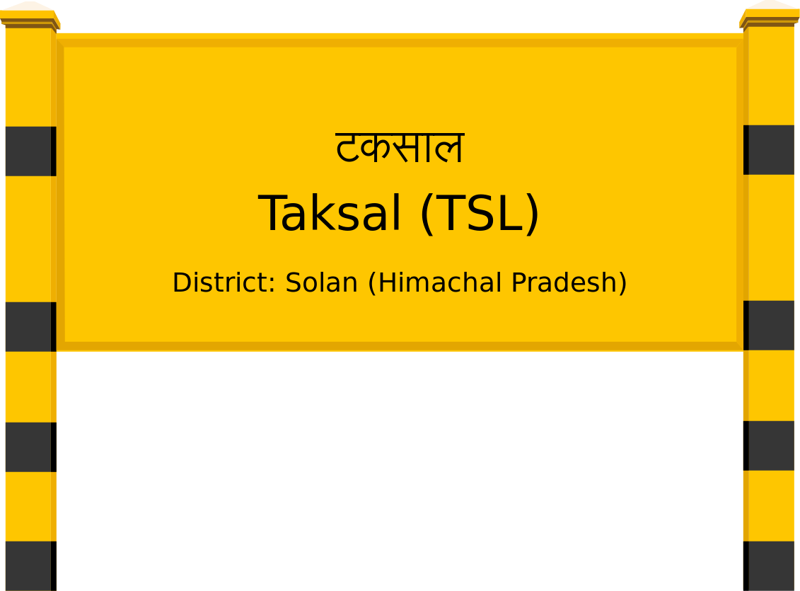 Taksal (TSL) Railway Station