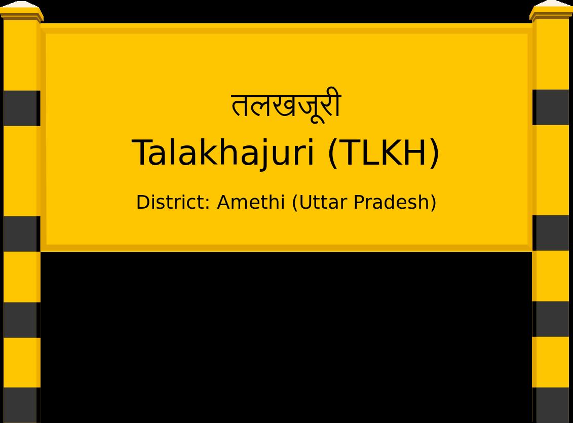 Talakhajuri (TLKH) Railway Station