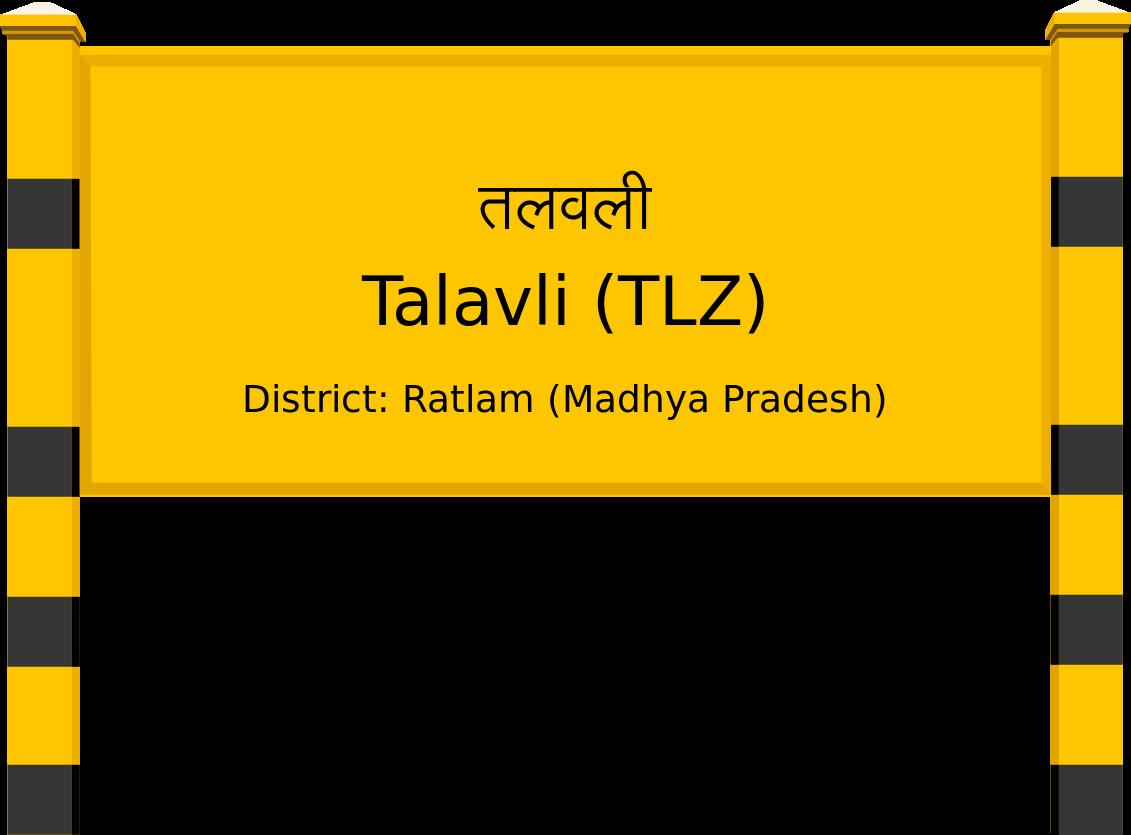 Talavli (TLZ) Railway Station