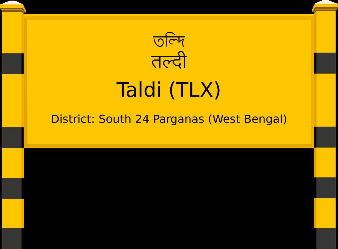 Taldi (TLX) Railway Station
