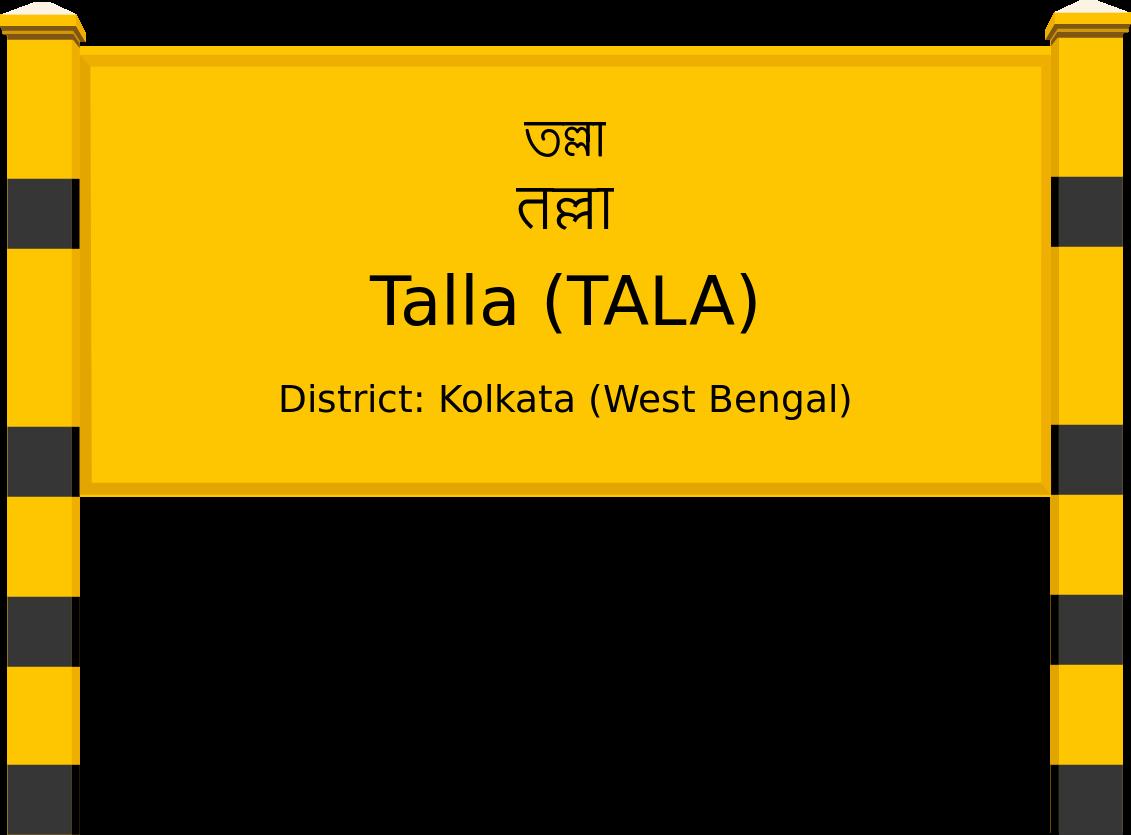 Talla (TALA) Railway Station