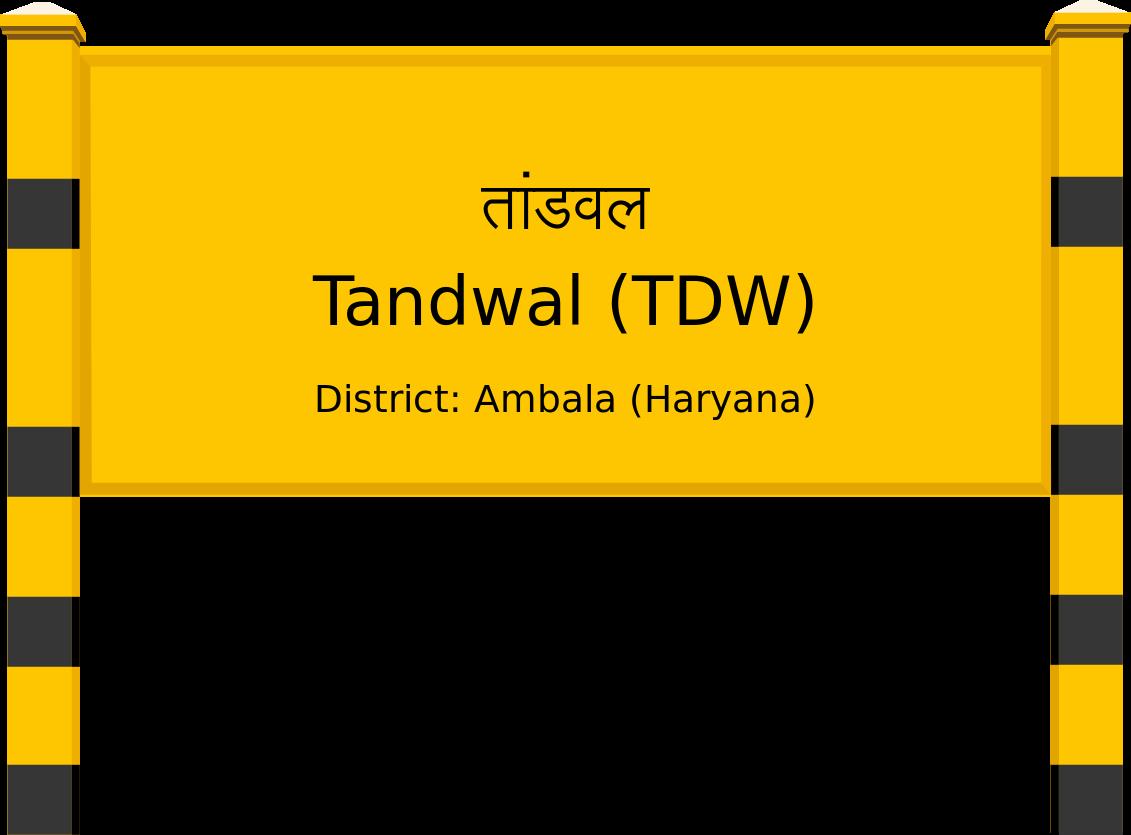 Tandwal (TDW) Railway Station