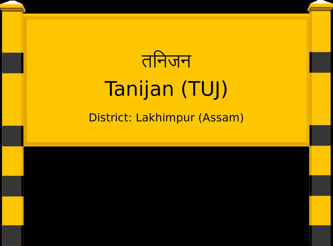 Tanijan (TUJ) Railway Station