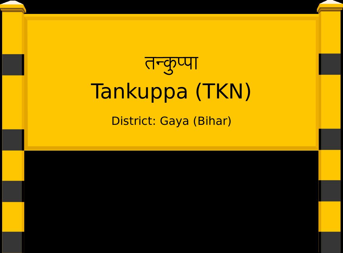 Tankuppa (TKN) Railway Station