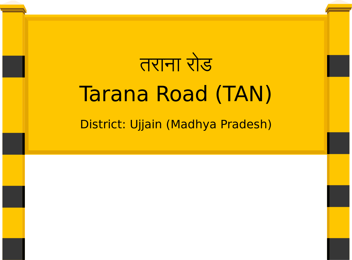 Tarana Road (TAN) Railway Station