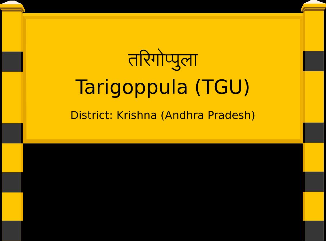 Tarigoppula (TGU) Railway Station