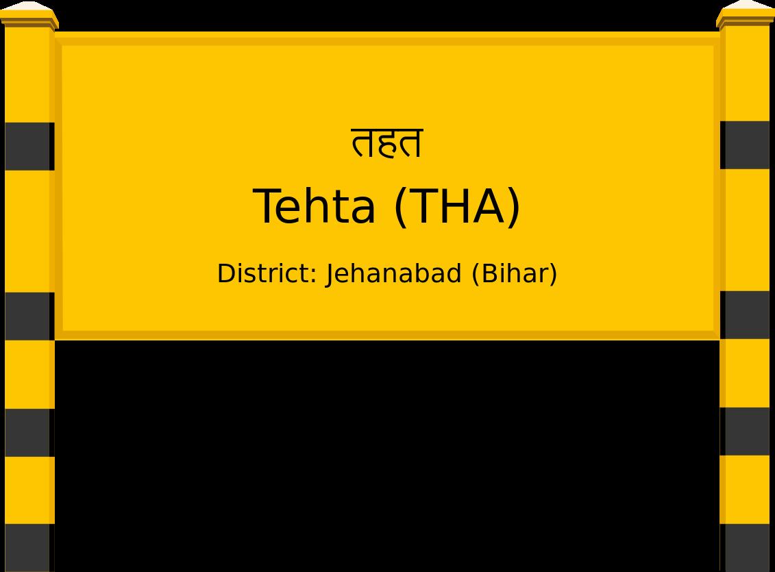 Tehta (THA) Railway Station