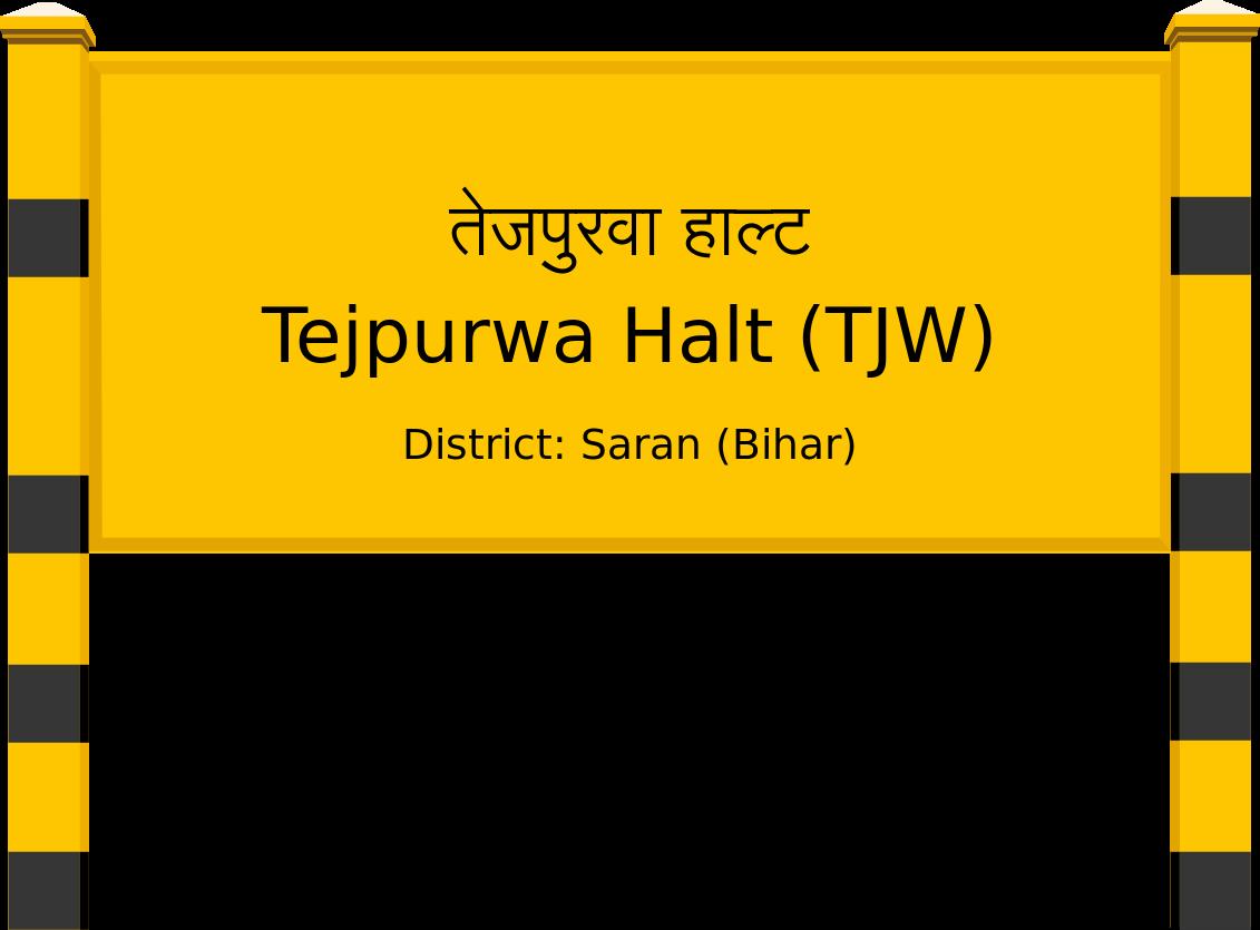 Tejpurwa Halt (TJW) Railway Station
