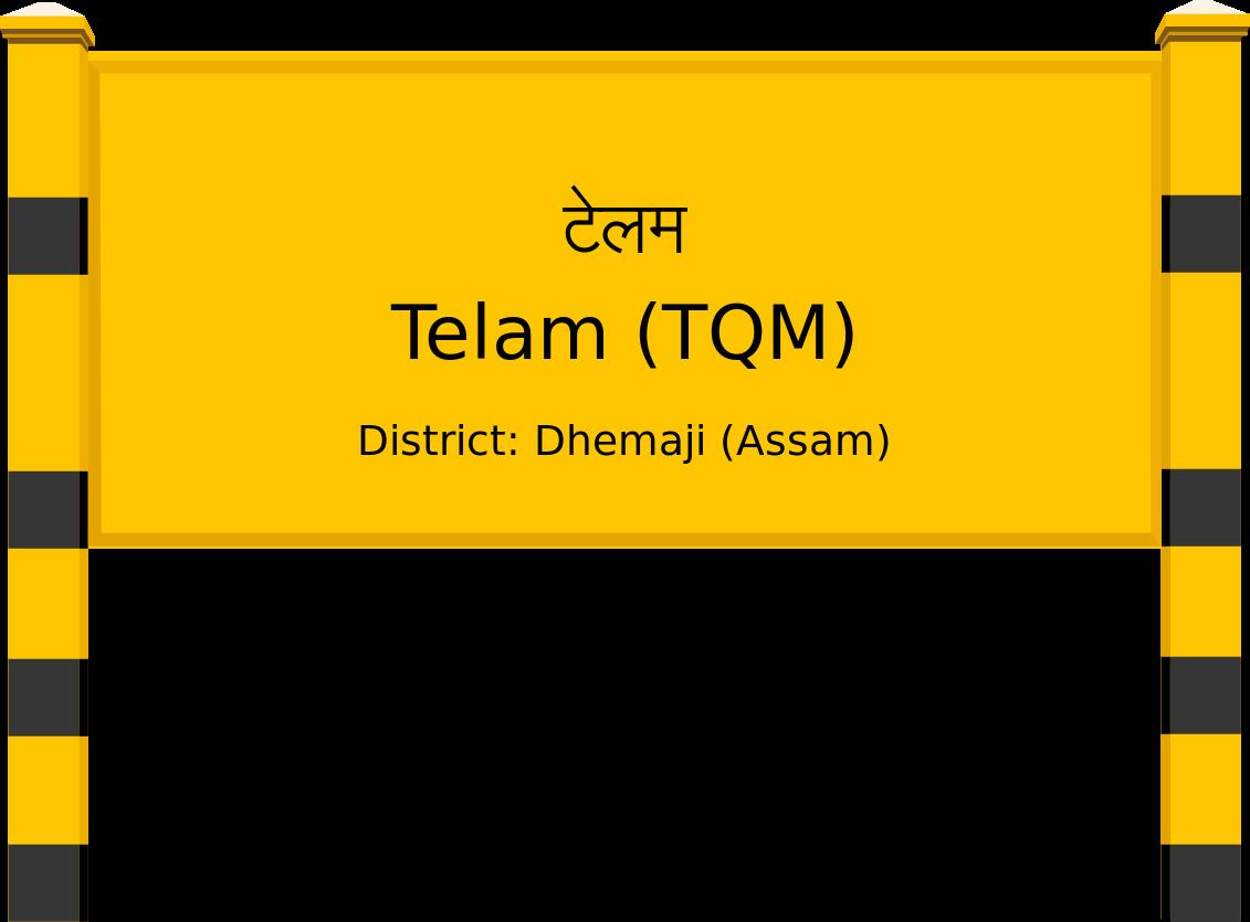 Telam (TQM) Railway Station