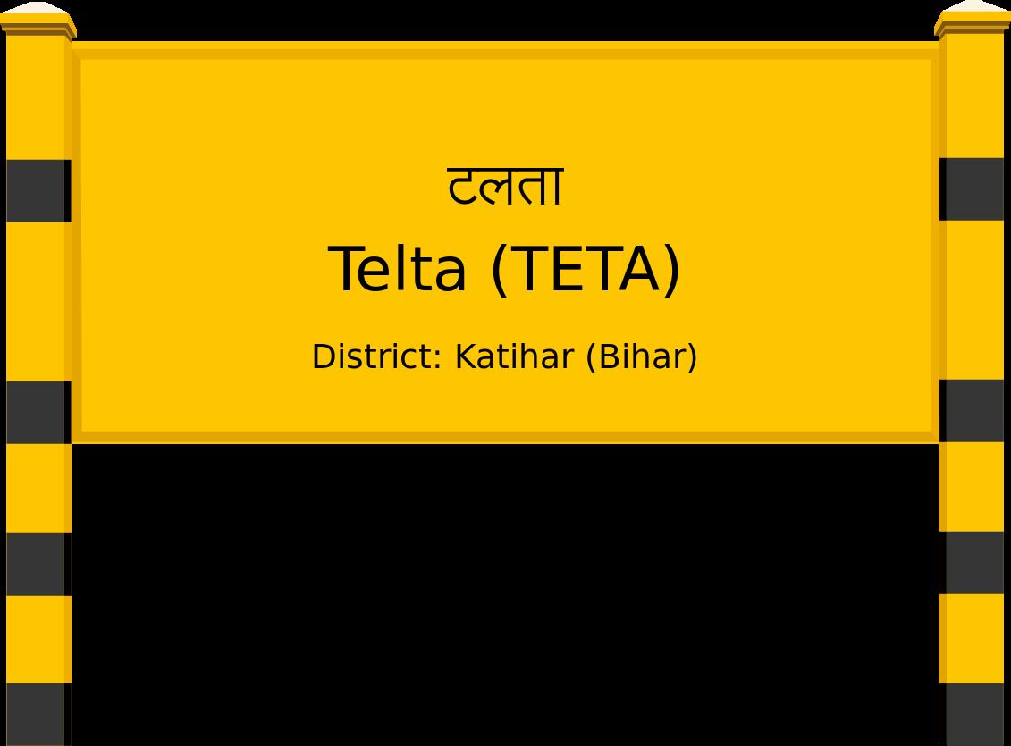 Telta (TETA) Railway Station