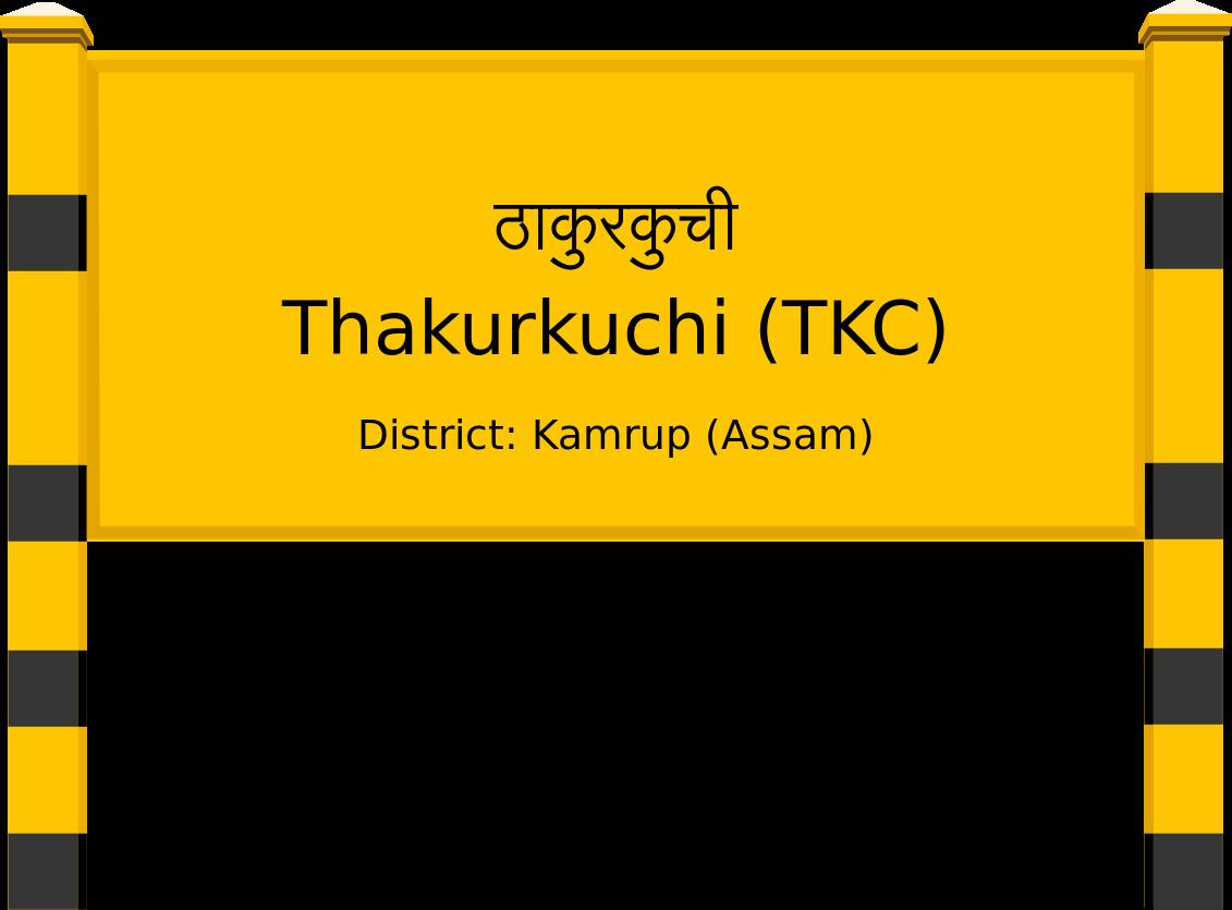Thakurkuchi (TKC) Railway Station