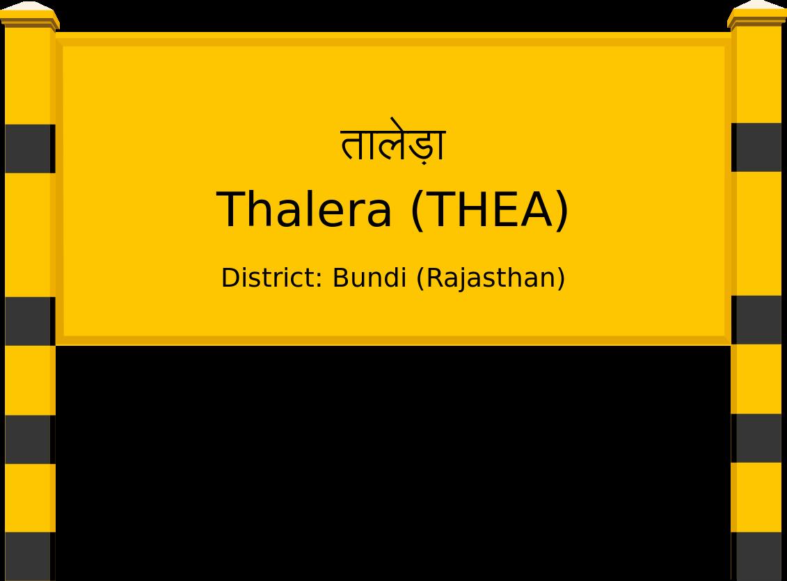 Thalera (THEA) Railway Station