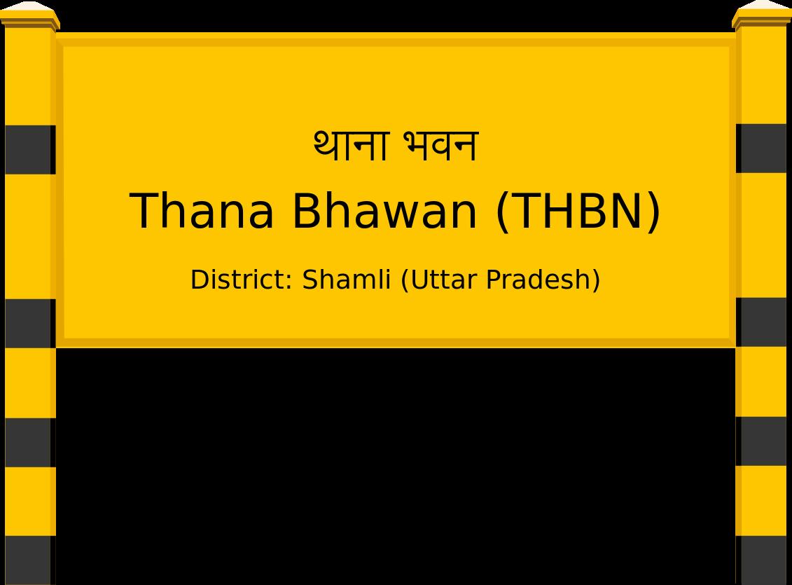 Thana Bhawan (THBN) Railway Station