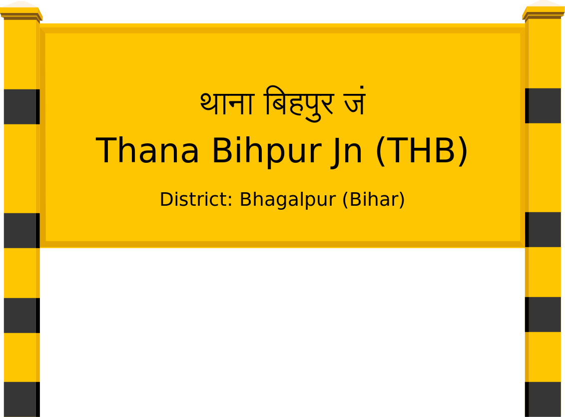 Thana Bihpur Jn (THB) Railway Station