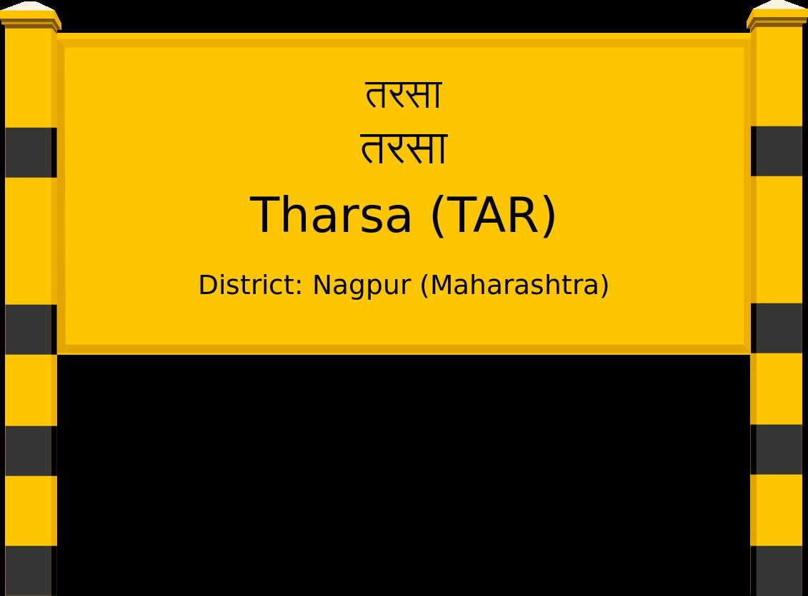Tharsa (TAR) Railway Station