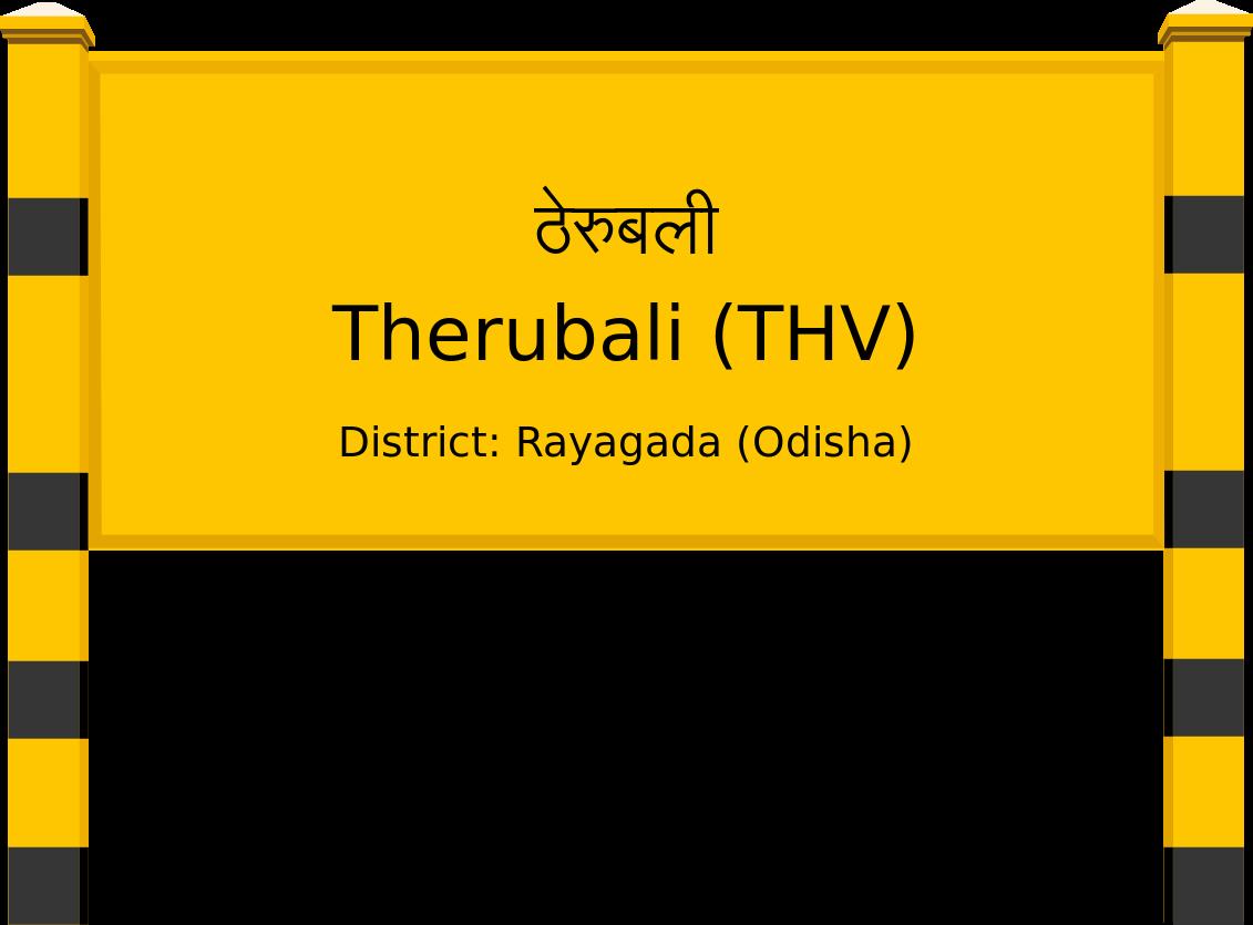 Therubali (THV) Railway Station