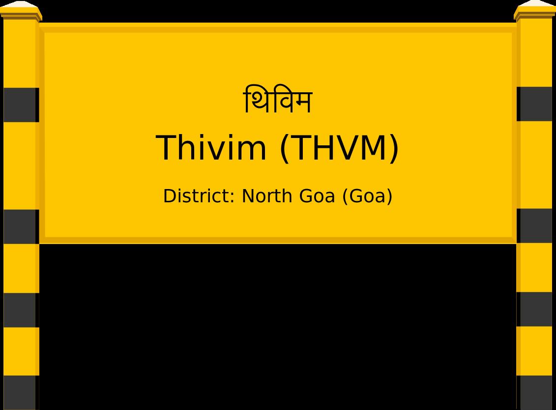 Thivim (THVM) Railway Station