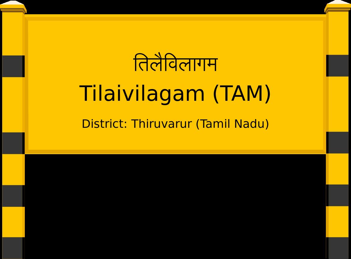 Tilaivilagam (TAM) Railway Station