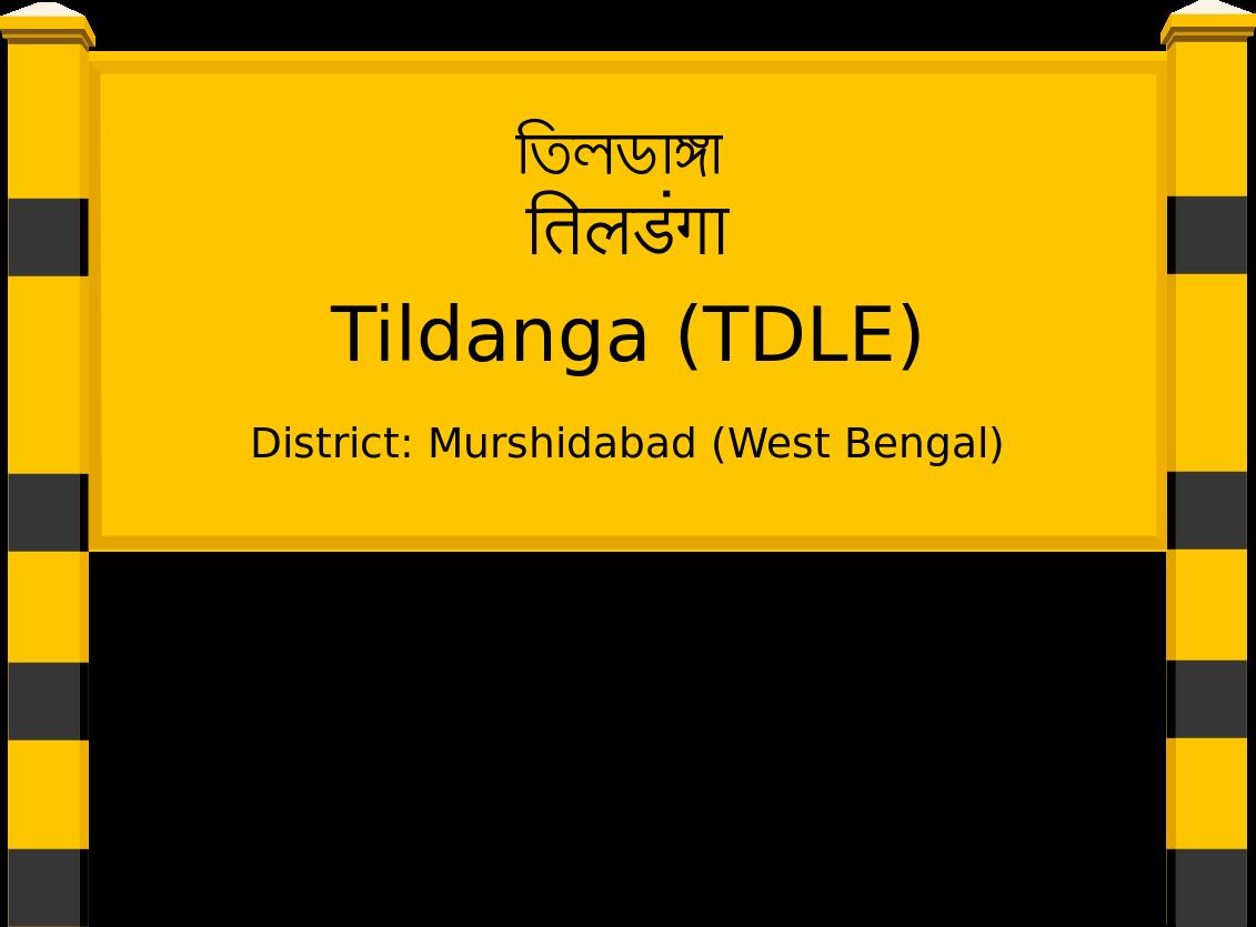 Tildanga (TDLE) Railway Station