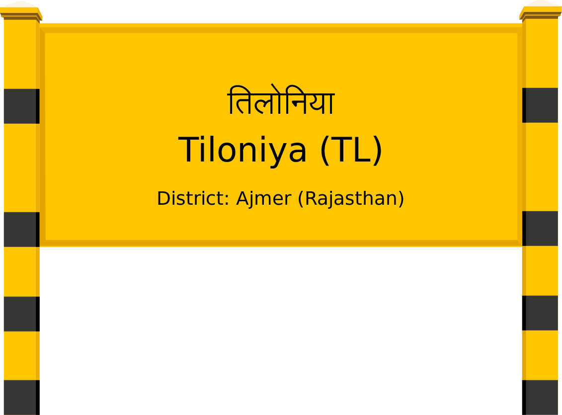 Tiloniya (TL) Railway Station