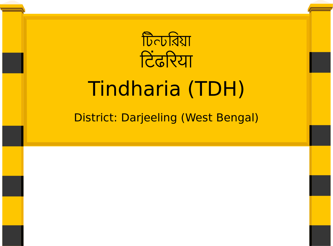 Tindharia (TDH) Railway Station
