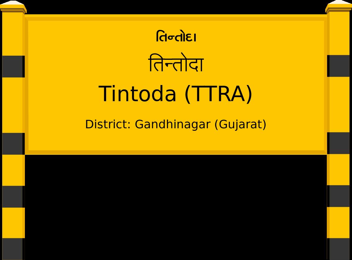 Tintoda (TTRA) Railway Station