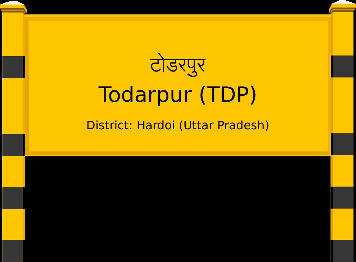 Todarpur (TDP) Railway Station