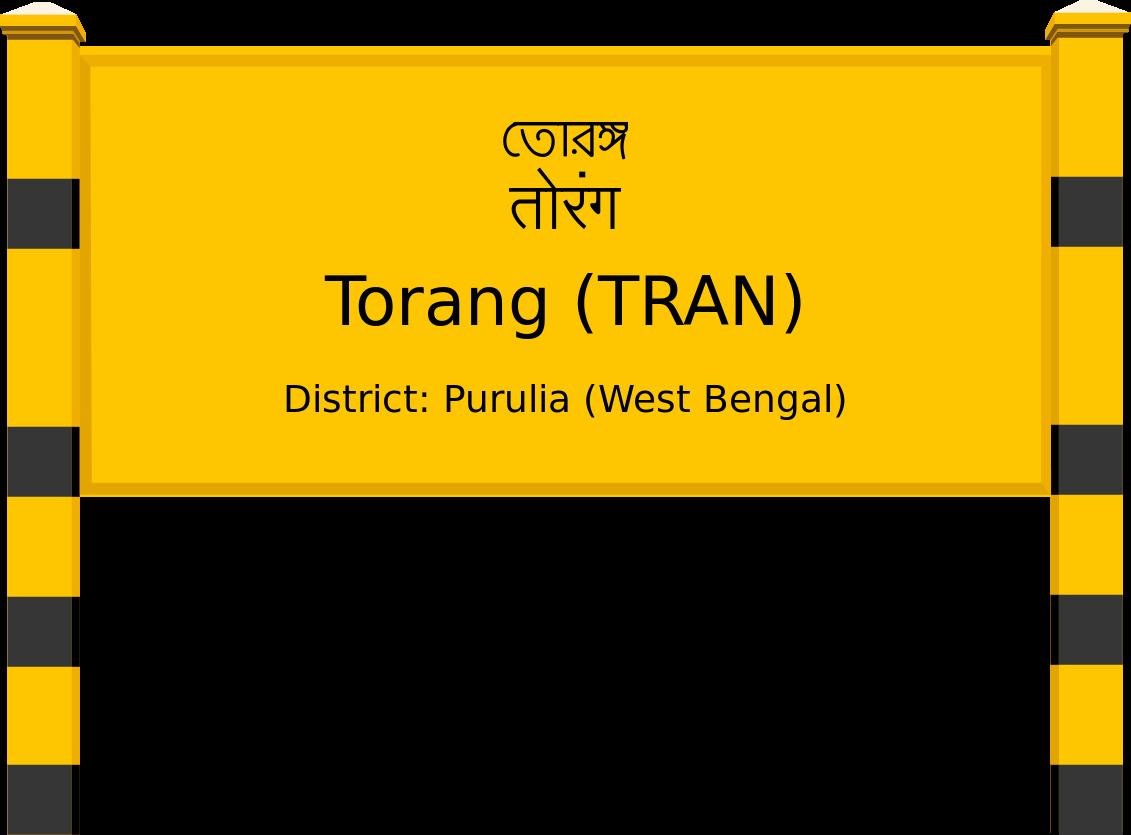 Torang (TRAN) Railway Station