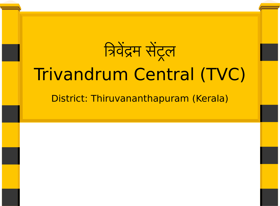 Trivandrum Central (TVC) Railway Station