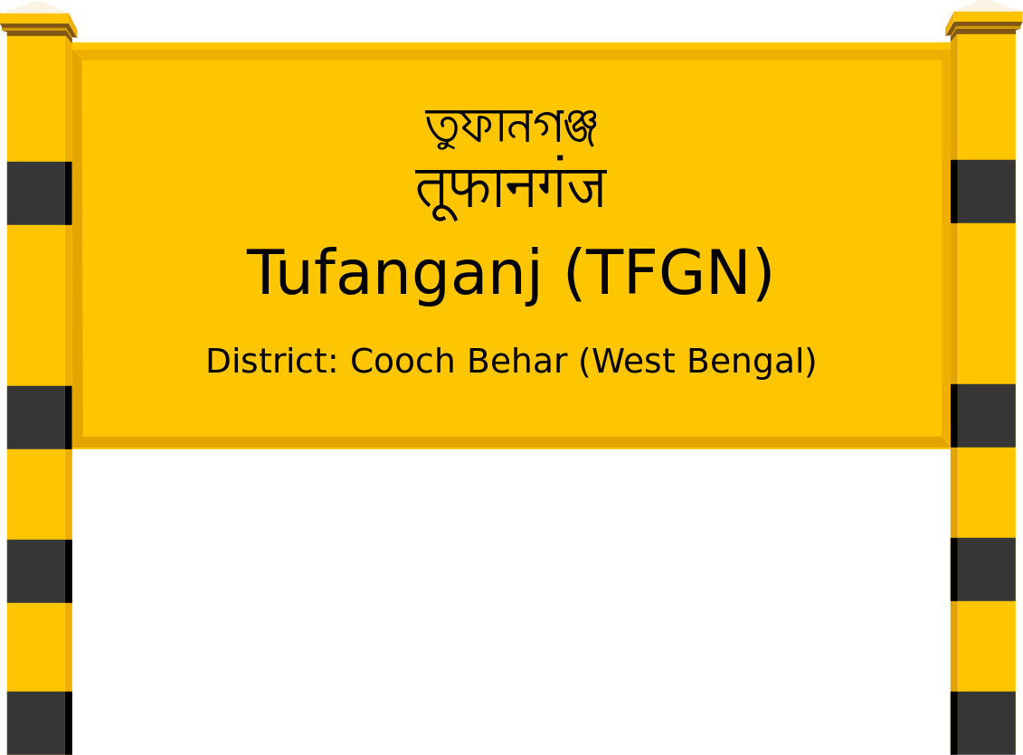 Tufanganj (TFGN) Railway Station
