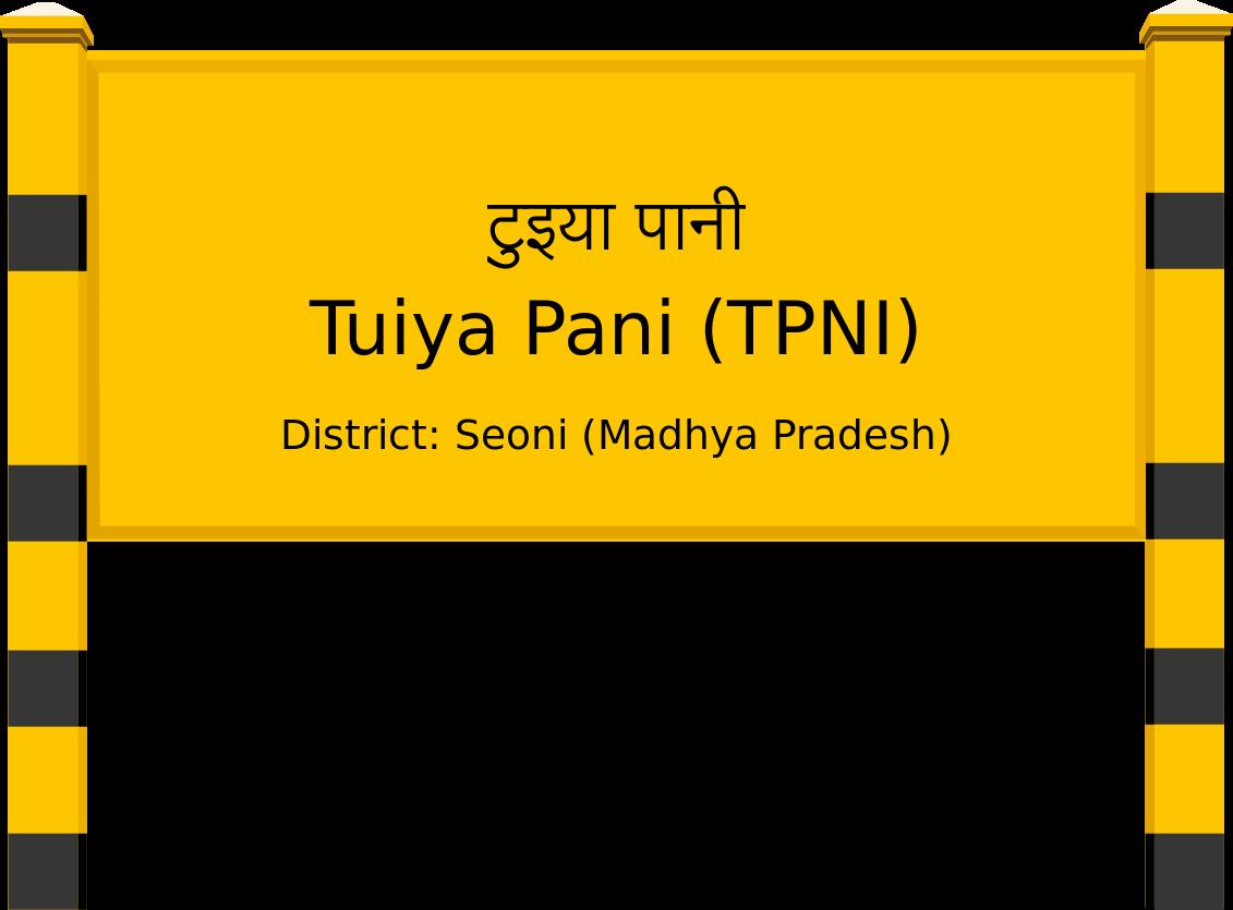 Tuiya Pani (TPNI) Railway Station