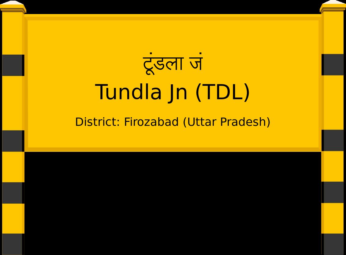 Tundla Jn (TDL) Railway Station