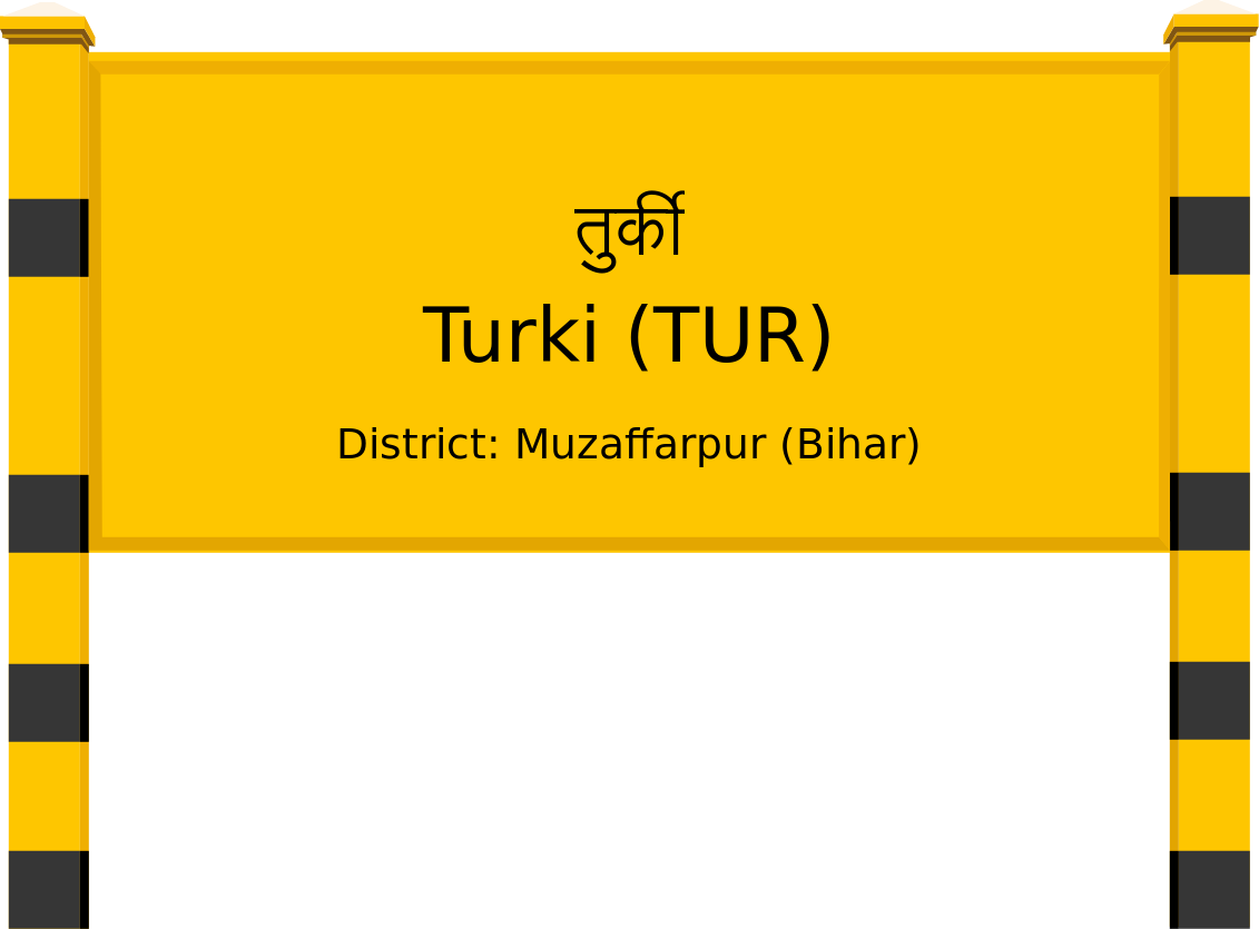 Turki (TUR) Railway Station