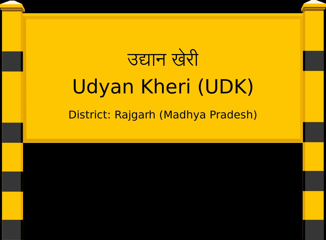 Udyan Kheri (UDK) Railway Station