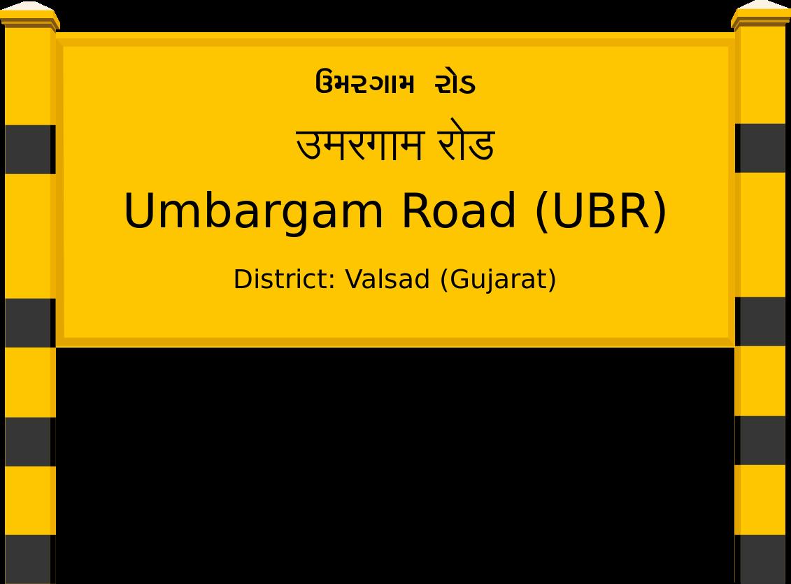 Umbargam Road (UBR) Railway Station