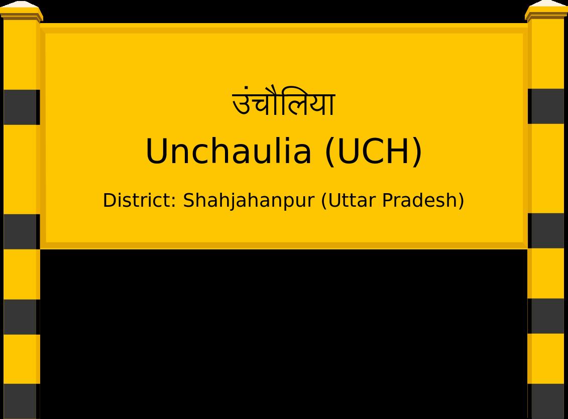 Unchaulia (UCH) Railway Station