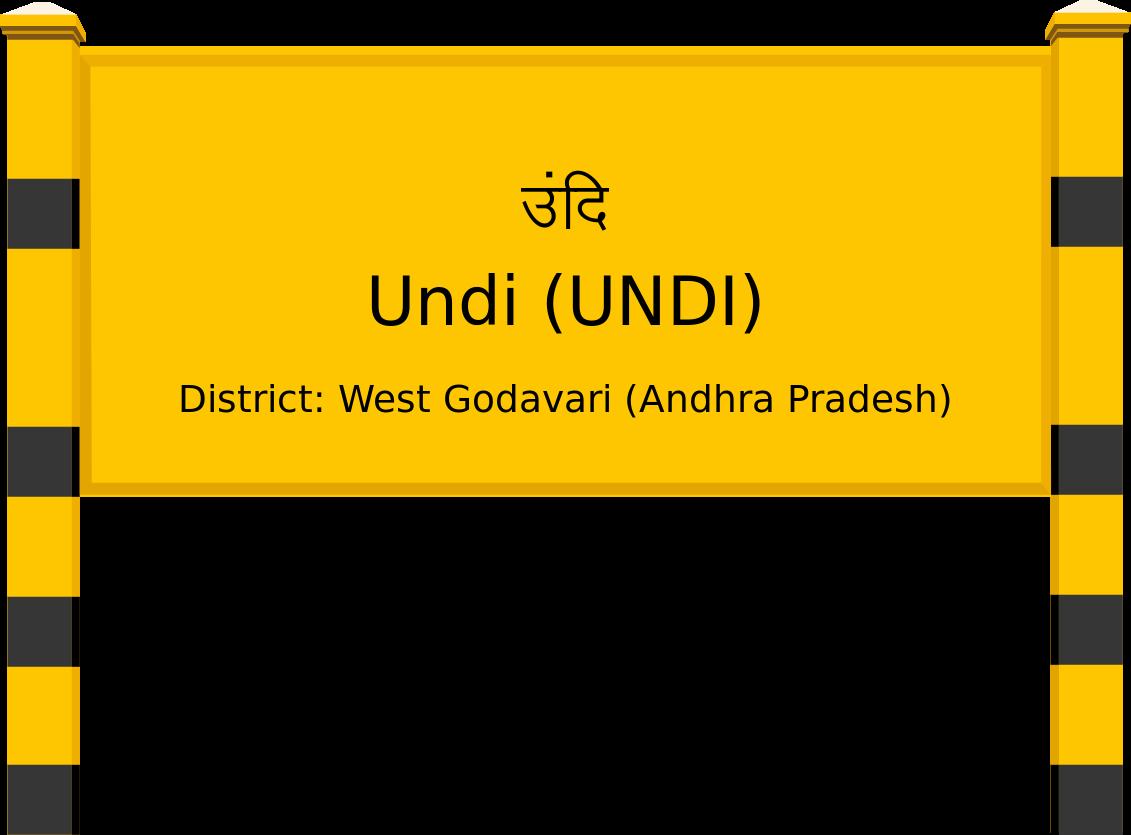 Undi (UNDI) Railway Station
