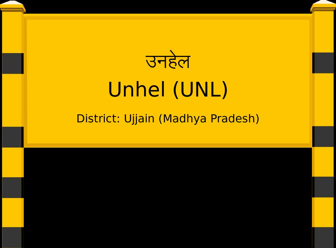 Unhel (UNL) Railway Station