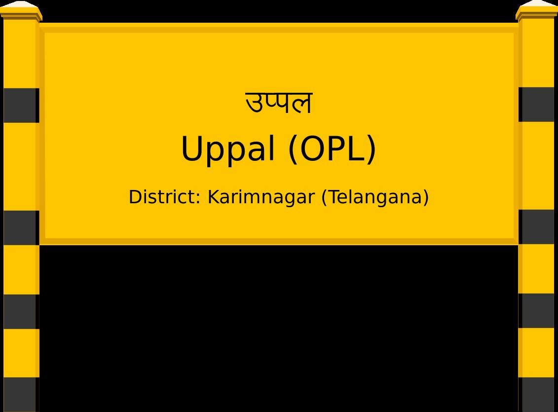 Uppal (OPL) Railway Station