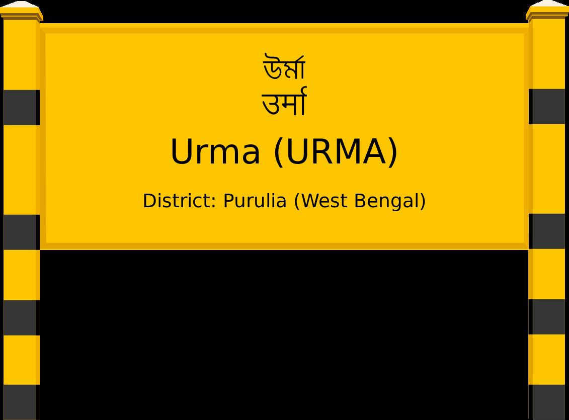 Urma (URMA) Railway Station