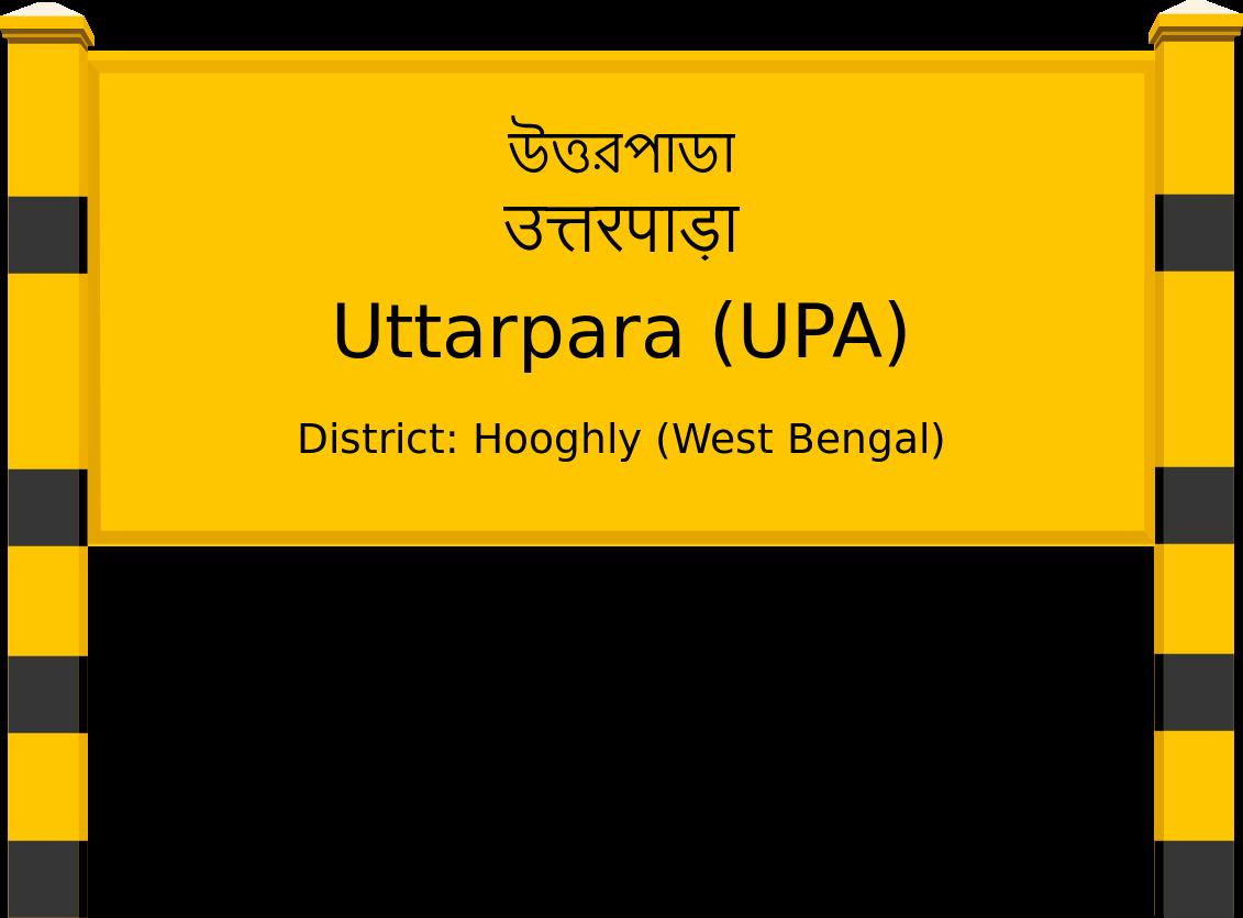 Uttarpara (UPA) Railway Station