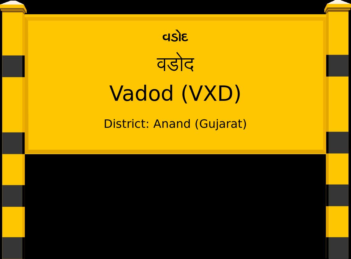 Vadod (VXD) Railway Station