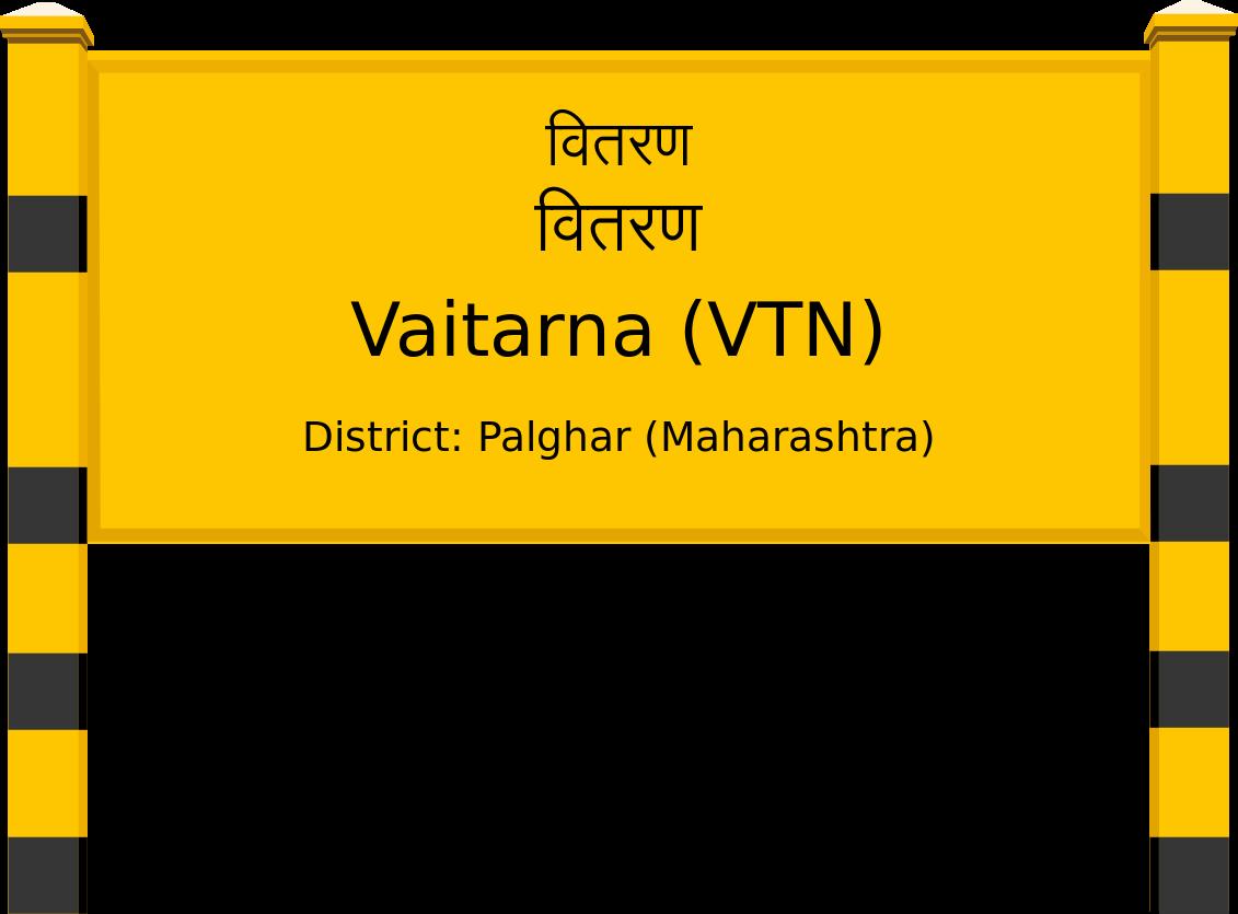Vaitarna (VTN) Railway Station