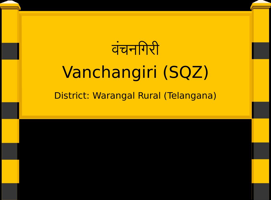 Vanchangiri (SQZ) Railway Station