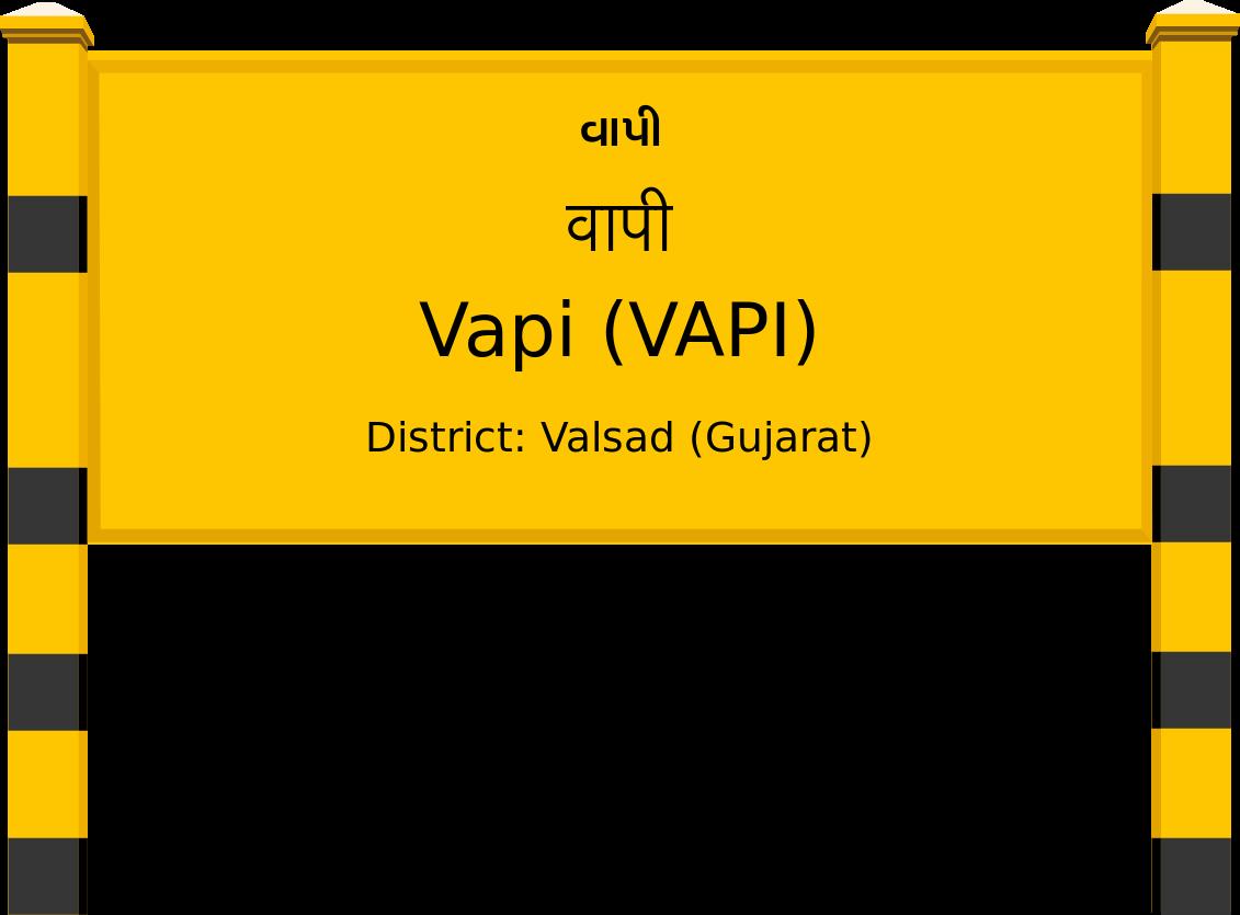 Vapi (VAPI) Railway Station