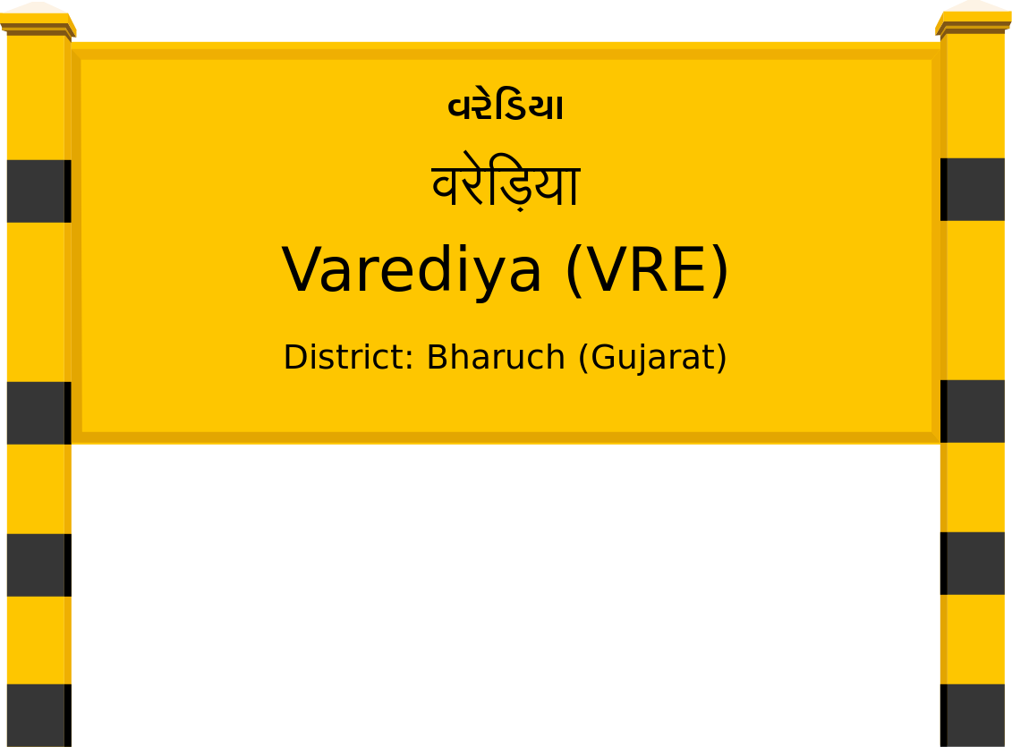 Varediya (VRE) Railway Station