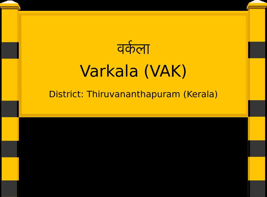 Varkala (VAK) Railway Station